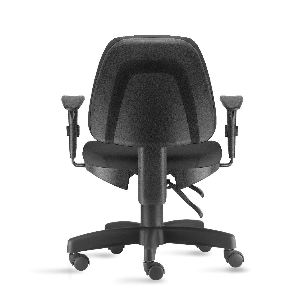 Cadeira de Escritório Giratória Salerno com Back System Preto