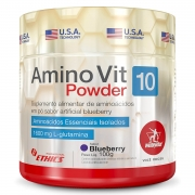 Amino Vit 10 Powder 100g Sabor Blueberry