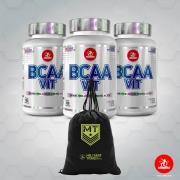 Kit BCAA Vit Leve 3 Pague 2 + GRÁTIS 1 Gym Bag