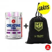Creatine Usa 300g + GRÁTIS 1 Gym Bag