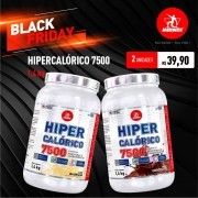 Kit 2 Hipercalóricos 7500 • 1,4kg • Black Friday