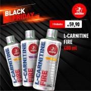 Kit 3 L-Carnitine Fire • 480 ml • Black Friday
