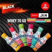 Kit 6 Whey To Go • 300ml • Diversos Sabores • Black Friday