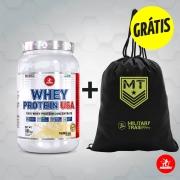 Kit Whey Protein USA 907,1g + GRÁTIS 1 Gym Bag