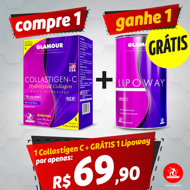 1 Collastigen C + GRÁTIS 1 Lipoway