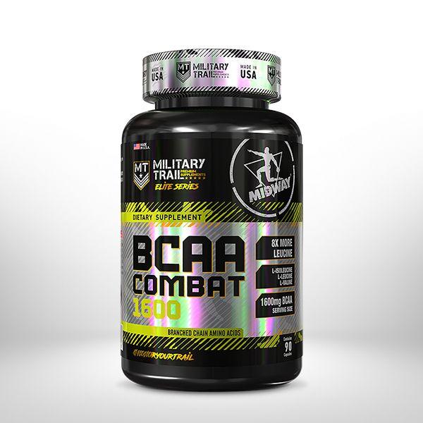 Bcaa Combat 1600 - 90 Caps