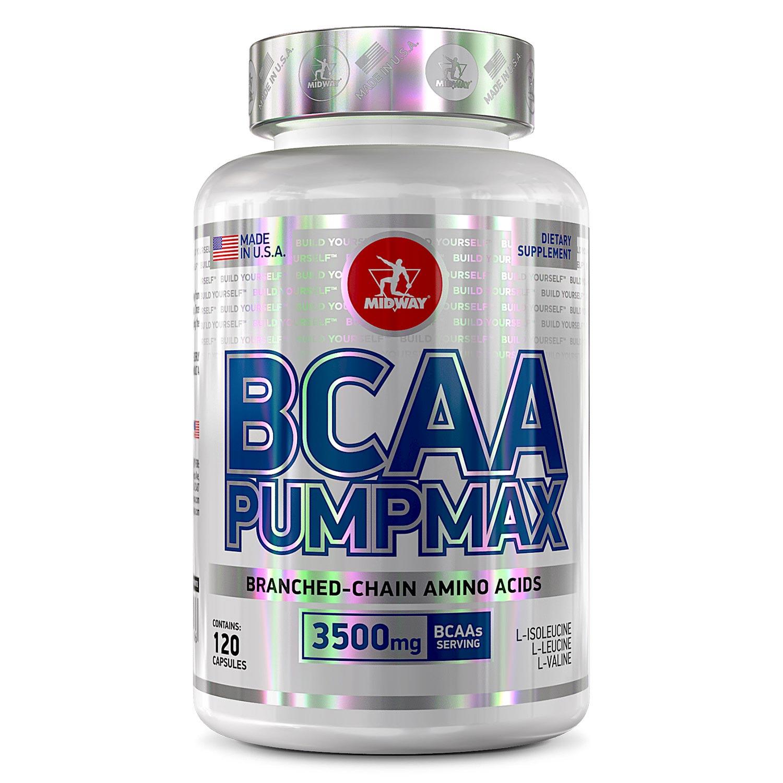 Bcaa Pumpmax - 120 Caps