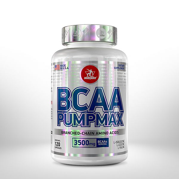 Bcaa Pumpmax - 120 Caps