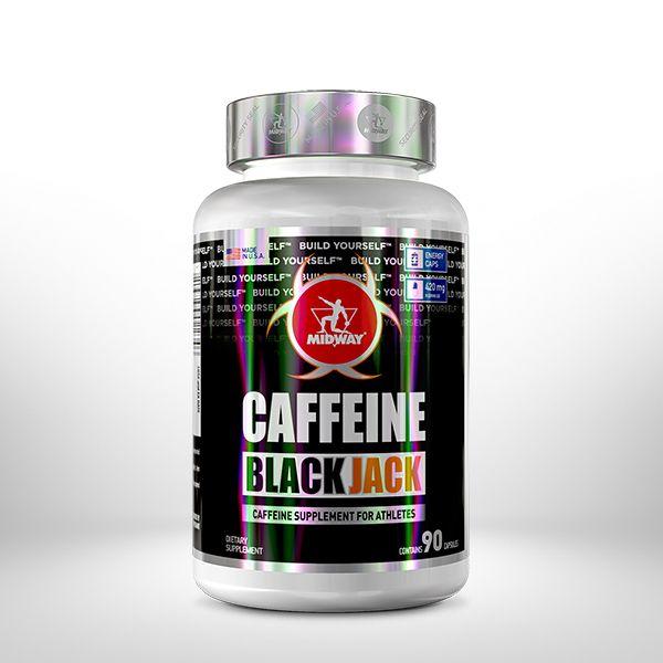 Caffeine Black Jack - 90 Caps