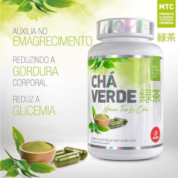 Chá Verde - Green Tea - 60 caps