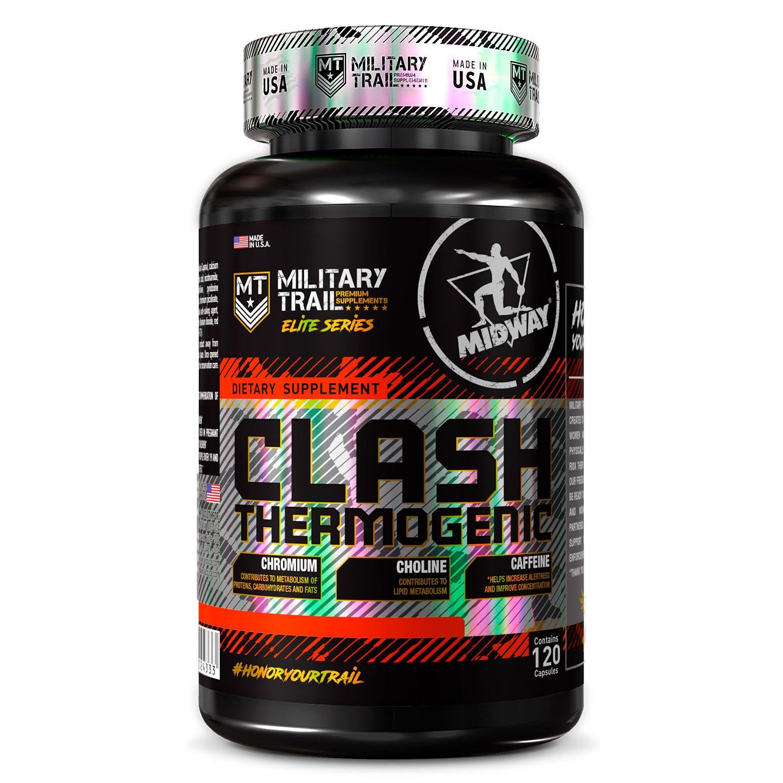 Clash Termogenic - 120 caps