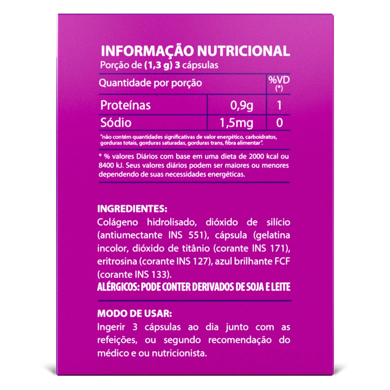 Colágeno Hidrolisado 60 Cáps