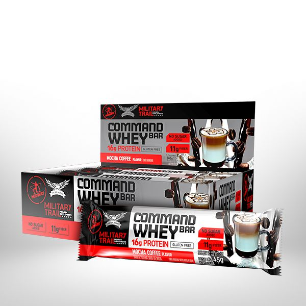 Command Whey Bar 45G 12 Unidades