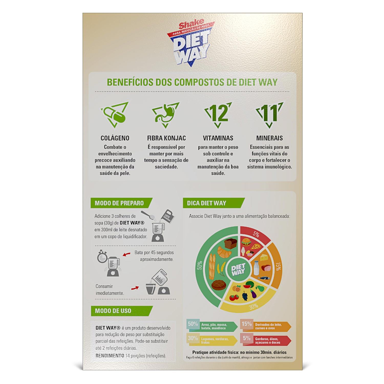 Diet Way Shake 420g