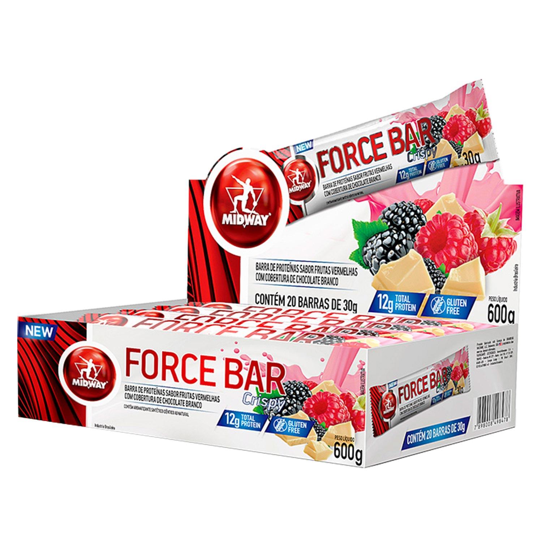Force Bar Crisp 30G C/ 20 Uni.