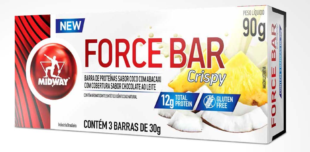 Force Bar Crisp 3 Unidades