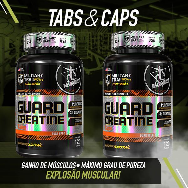 Guard Creatine - 120 Caps