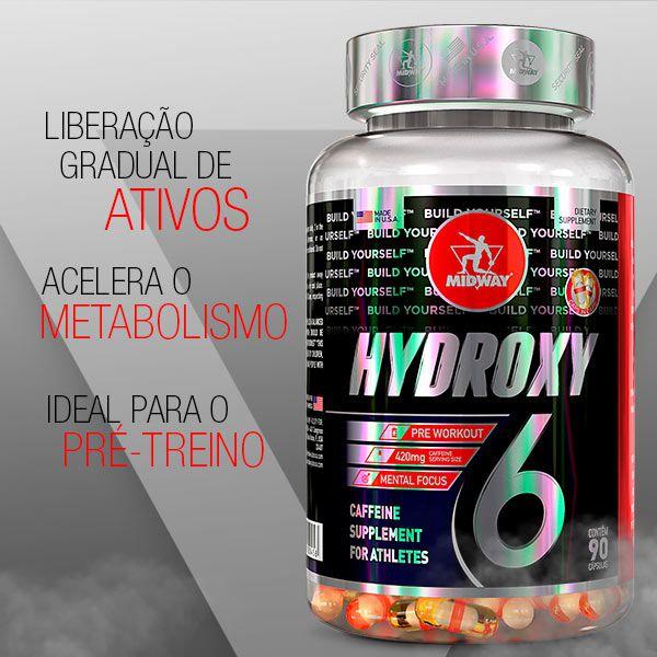 Hydroxy Six - 90 Caps