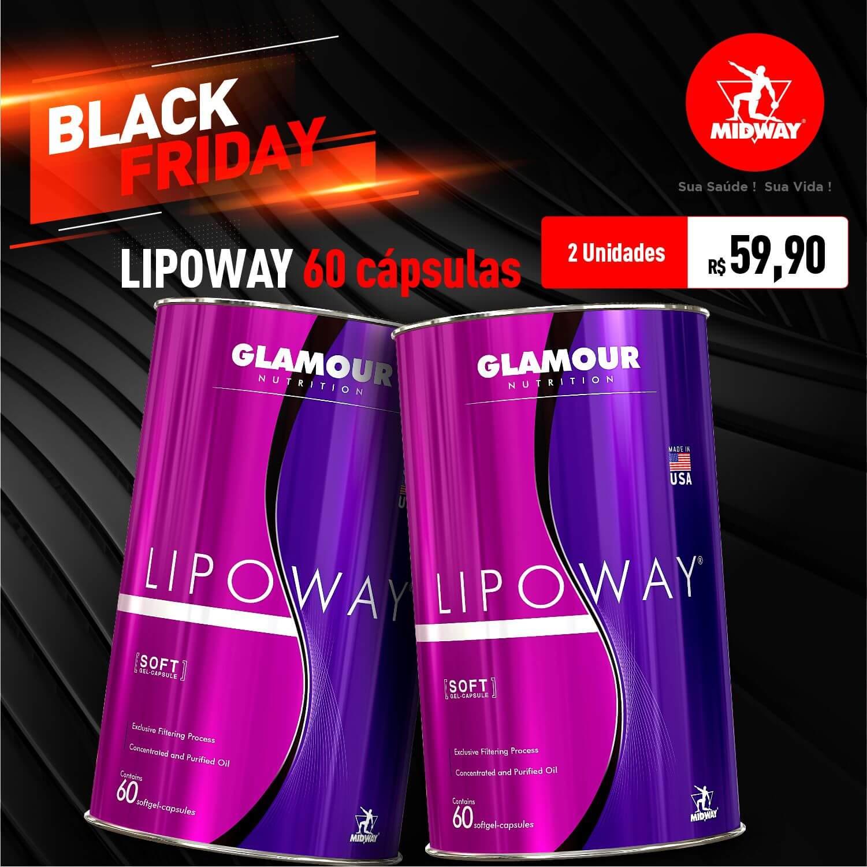 Kit 2 Lipoway • 60 softgel capsules • Black Friday