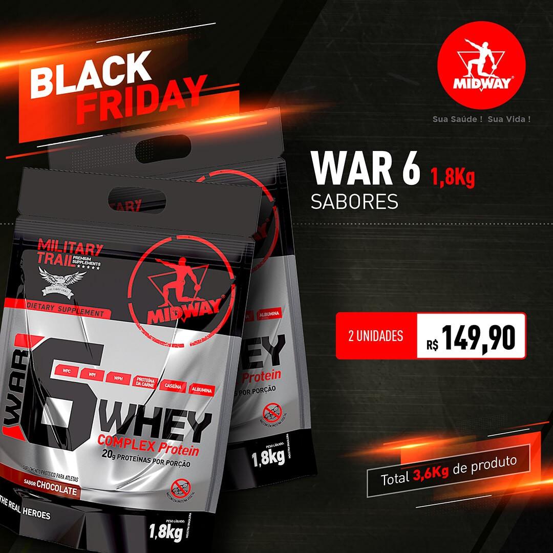Kit 2 War 6 • 1,8 kg • Sabores • Black Friday