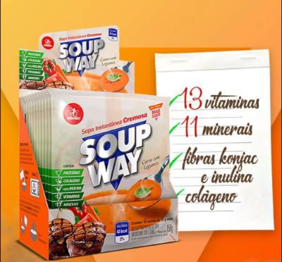 KIT 4X SOUP WAY + COQUETELEIRA