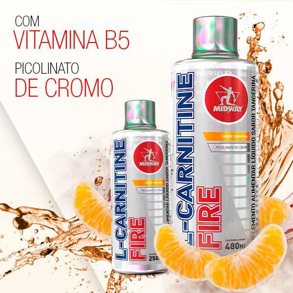 Kit JUJU • Emagrecimento Diet Way 420g Maça + Redux Way 60 Caps + L-Carnitine Fire 480 ml Tangerina + Coqueteleira