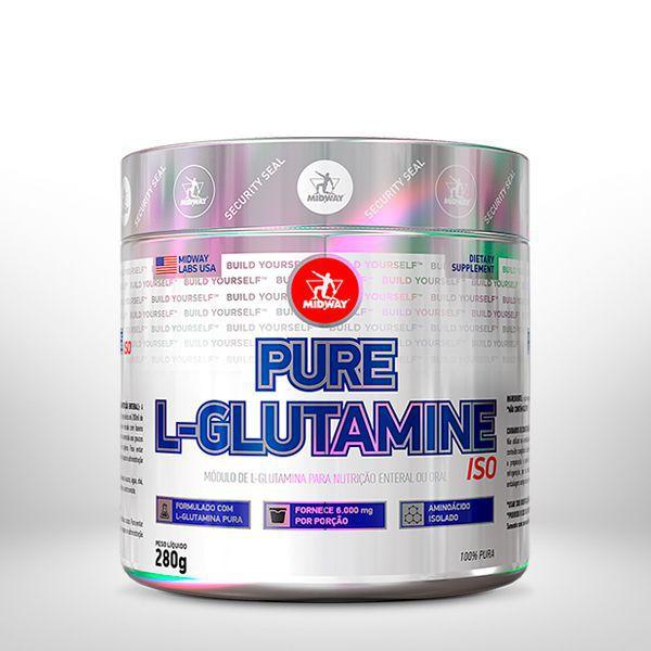 KIT IMUNE/AMINO • L-Glutamine Powder 280g + Amino Tank 300g Blueberry