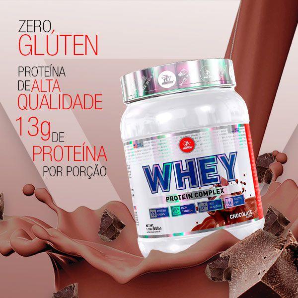 KIT MASS: 1 Whey Protein + 1 Creatine USA + 2 BCAA Vit