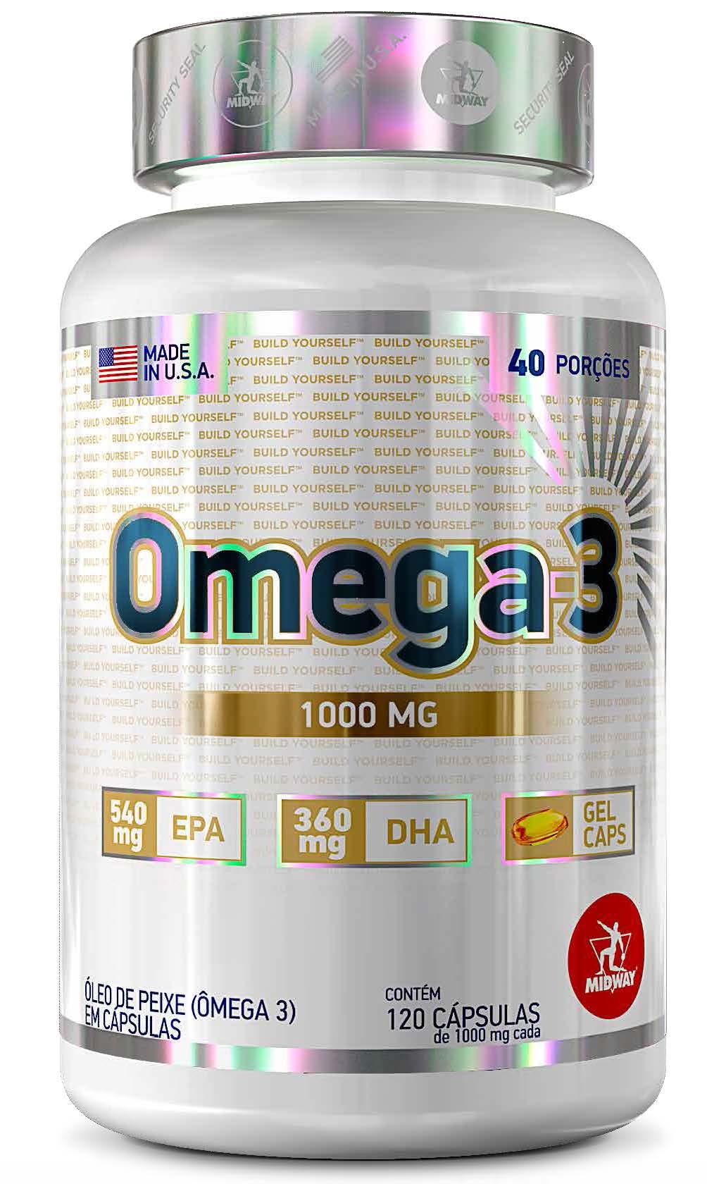 Kit +Saúde: Vitamina C 60 Caps + L-Glutamina 280g + Omega 3 120 Caps + Coqueteleira
