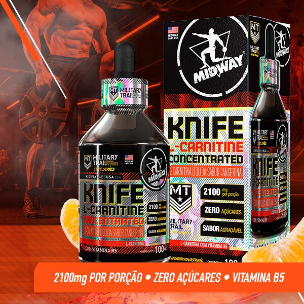L-Carnitina Knife Concentrated 100ml
