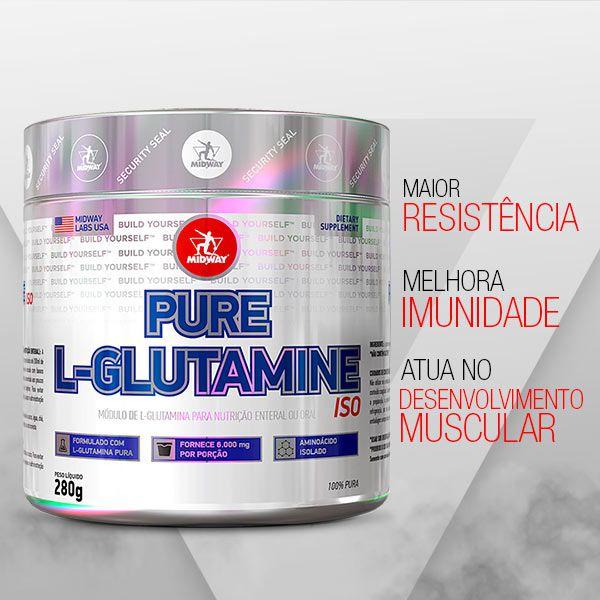 L-Glutamine Powder  • 280g • Black Friday