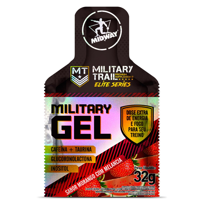 Military Gel 32G C/ 10 Units