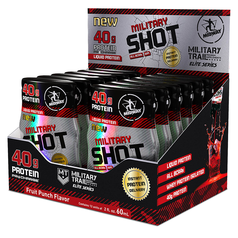 Military Shot - 12 Btl