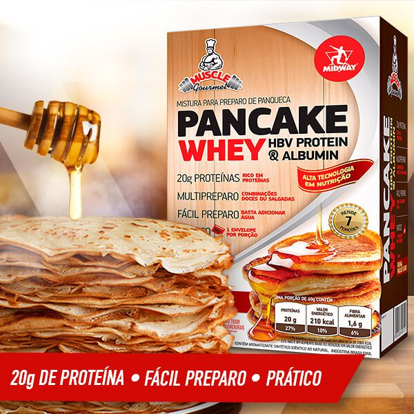 Pancake Whey Protein • 420 g