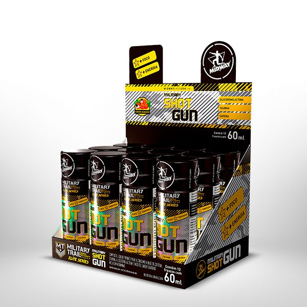 Military Shot Gun 60 ml x 12 Unidades