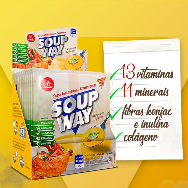 Soup Way 150G - Display 10 Un. 15g