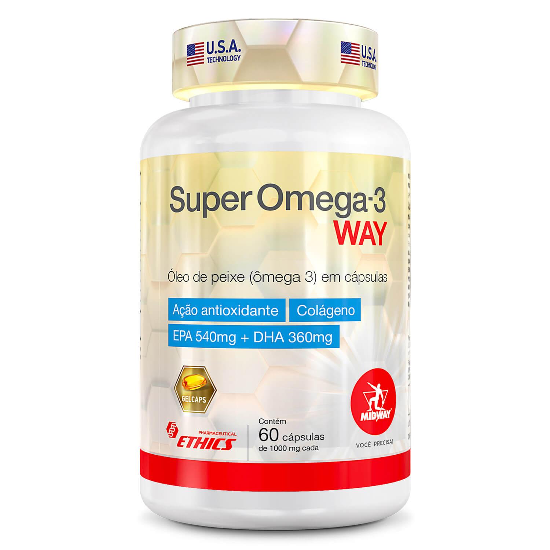 Super Ômega 3 Way 60 cápsulas