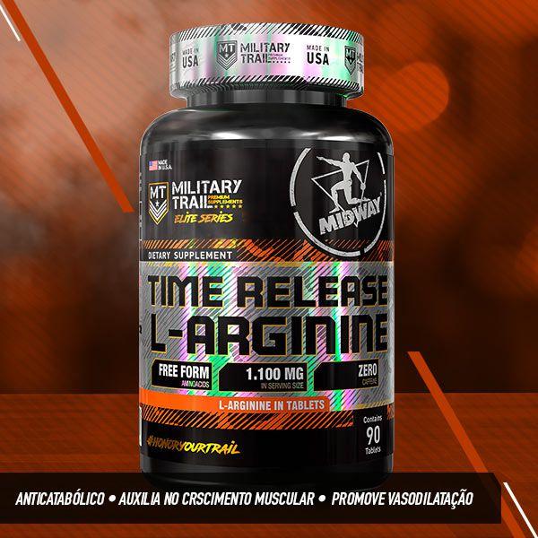 Time Release L-Arginine - 90 Tabs