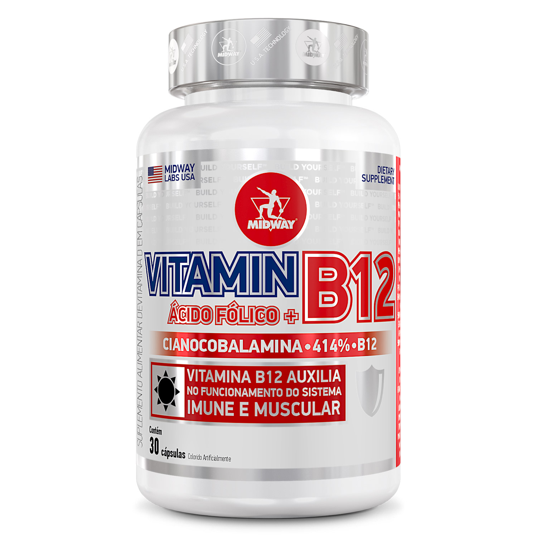 Vitamina B12 30 cápsulas