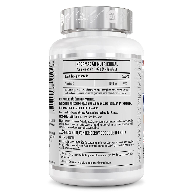 Vitamina C 60 Caps