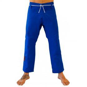 Calça Jiu Jitsu Keiko Brim Azul Adulto Unissex