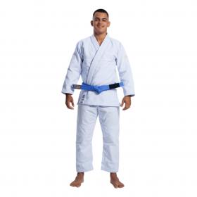 Kimono Jiu Jitsu Atama Infinity Collab Branco Bordado Branco