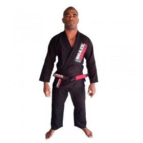Kimono Jiu Jitsu Brazil Combat Starter Preto Unissex