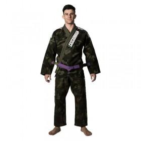 Kimono Jiu Jitsu Cascagrossa Camuflado Selva Adulto Unissex
