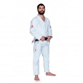 Kimono Jiu Jitsu Dragão DK Branco Adulto Unissex