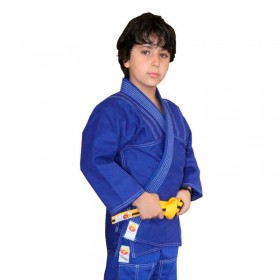 Kimono Jiu Jitsu Dragão Yuri Azul Infantil