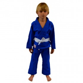 Kimono Jiu Jitsu Keiko Juvenil Reforçado Azul Infantil