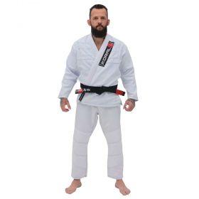 Kimono Jiu Jitsu Koral One Branco Adulto Unissex