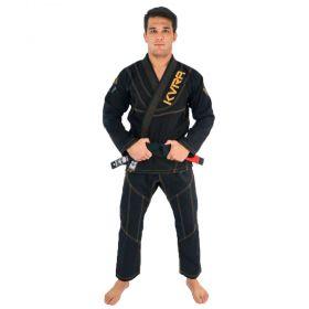 Kimono Jiu Jitsu Kvra Shadow Preto Adulto Unissex