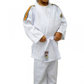 Kimono Jiu Jitsu Shihan Kids Branco Infantil